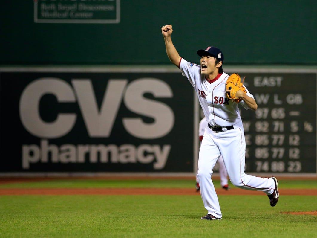 One Final Farewell To World Series Legend, Koji Uehara