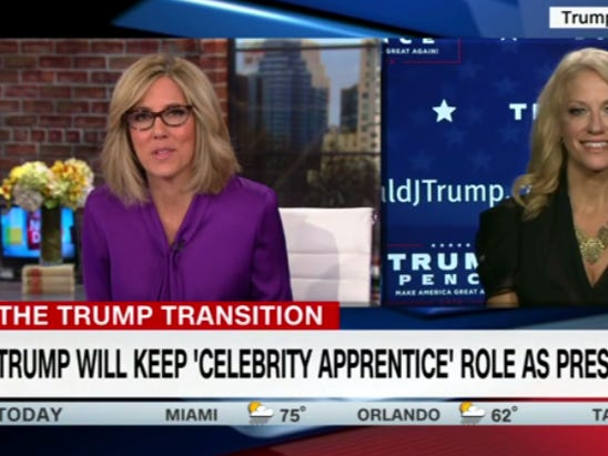 """Donald Trump Is Gonna Continue To Be An Executive Producer On """"Celebrity Apprentice"""" In His Spare Time"""