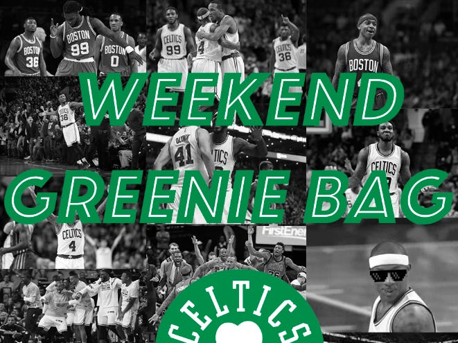 The Weekend Greenie Bag – What Does Rozier's Play Mean For The Future?