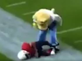 A Compilation Of Mascots Destroying Kids In Football Is Just A Great Internet Video. A V, V Great Internet Video.