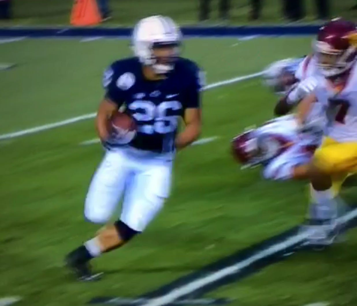 Saquon Barkley Put The Entire Trojans Defense In A Blender
