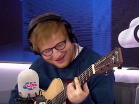 Ed Sheeran Playing The Fresh Prince Theme Song Is Hot, Hot Heat