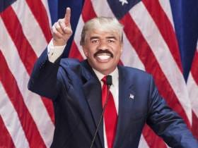 Steve Harvey Meeting With Donald Trump At Trump Tower