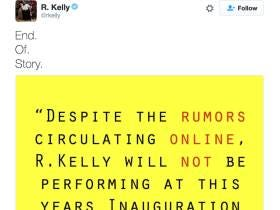 R. Kelly Wants To Make It Clear That Contrary To Internet Rumors, He Will NOT Be Performing At Donald Trump's Inauguration
