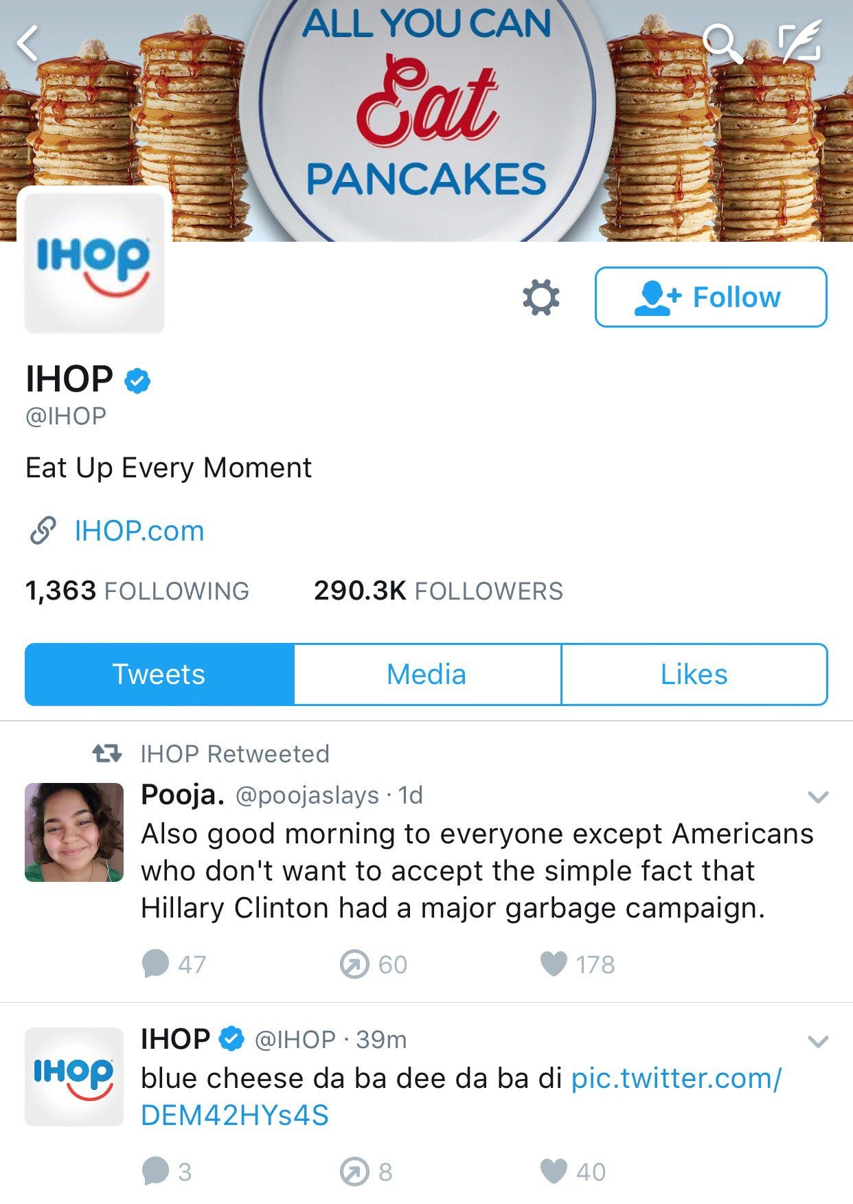 IHOP With The Political Hot Take From The Clouds!! - Barstool Sports