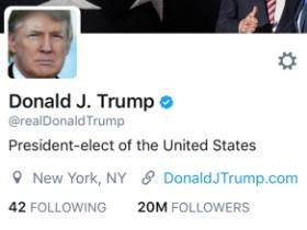 Donald Trump Will Not Be Using The @POTUS Twitter Account Once He Becomes President And I Don't Blame Him One Bit