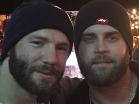 Mike Napoli Having Tom Brady And The Patriots' Back Makes My Heart Smile
