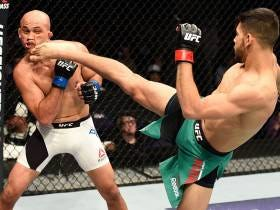 BJ Penn Was Certainly Not Motivated Last Night