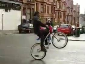 If You Were Curious As To What Marshawn Lynch Is Up To These Days, He's In Scotland Playing Chicken With Buses On His BMX Bike