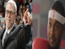 Carmelo Anthony Sat Down With Phil Jackson (Again) To Say That Wants To Stay With The Knicks (Again)