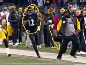 Mike Tomlin Pretends to be Mad at Antonio Brown