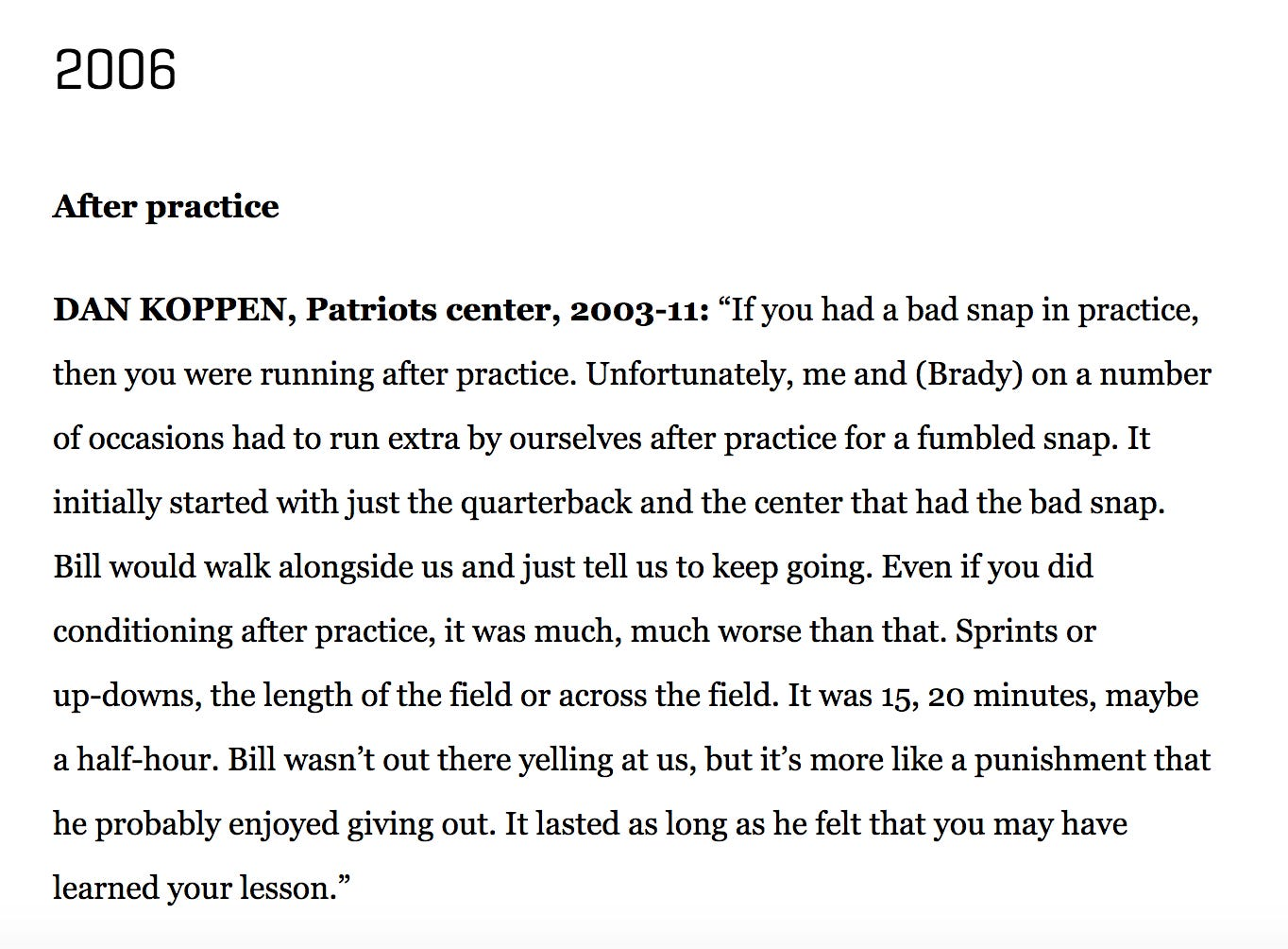 I Could Read Stories About How Bill Belichick Doesn\'t Care That Tom ...