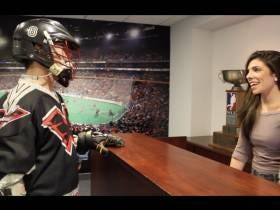 I Went To The National Lacrosse League Headquarters Yesterday To Bring Back The Wings