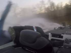 Nothing Like A Couple Of Bass Fishers Getting Ejected From Their Boat To Break Up The Day