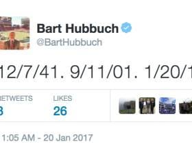 Bart Hubbuch Compares Today To 9/11 And Pearl Harbor
