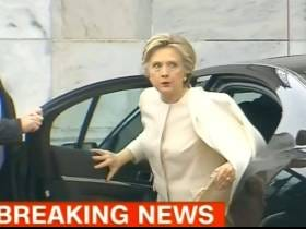 Hillary Is PUMPED For Inauguration!