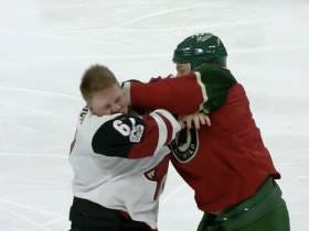 Friday Fights: Lawson Crouse Found Out The Hard Way That You Probably Don't Want To Fight Chris Stewart