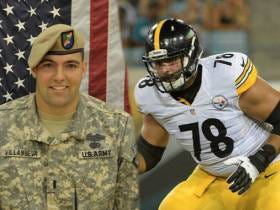 Steeler's Left Tackle And Army Ranger Alejandro Villanueva Explains Why He Was Awarded A Bronze Star With Valor