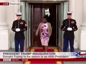 It Got Plenty Awkward When This BBC Commentator Mistook a Random Woman Walking Out of the White House for Michelle Obama