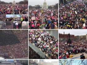 Over 500,000 People Have Taken To The Streets Of DC Today, And Millions More Around The Country For The #WomensMarch