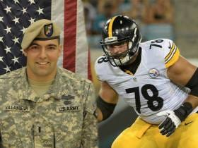 Steelers Left Tackle Alejandro Villanueva Shares Why He Was Awarded The Bronze Star With Valor