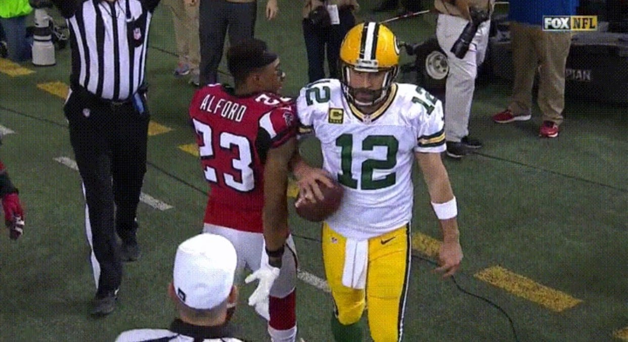 Aaron Rodgers Likely To Be Arrested Following This Blatant Assault