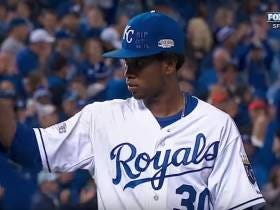 Wake Up With Yordano Ventura Pitching 7 Scoreless Innings In Game 6 Of The 2014 World Series