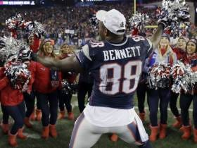 I Loved Watching Martellus Bennett Dancing His Ass Off With The Cheerleaders After The Win Last Night