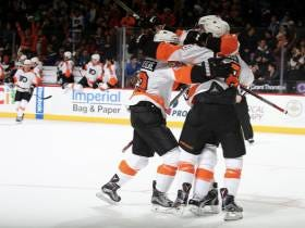 The Flyers Finally Won A Hockey Game Again. Wooo. Celebrate Good Times!