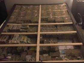 Ever Seen 17.5 Million Dollars Stuffed Into A Box Spring? Don't Worry, I Got You