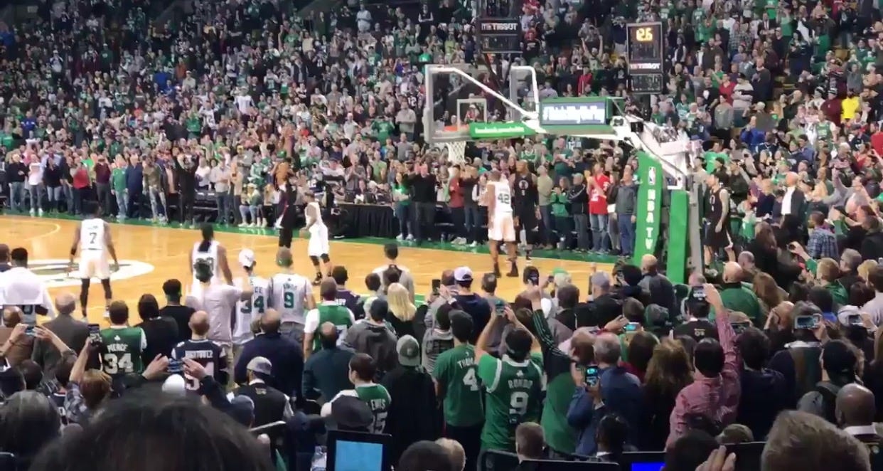 Paul Pierce's Final Bucket In The Garden Will Give You Chills