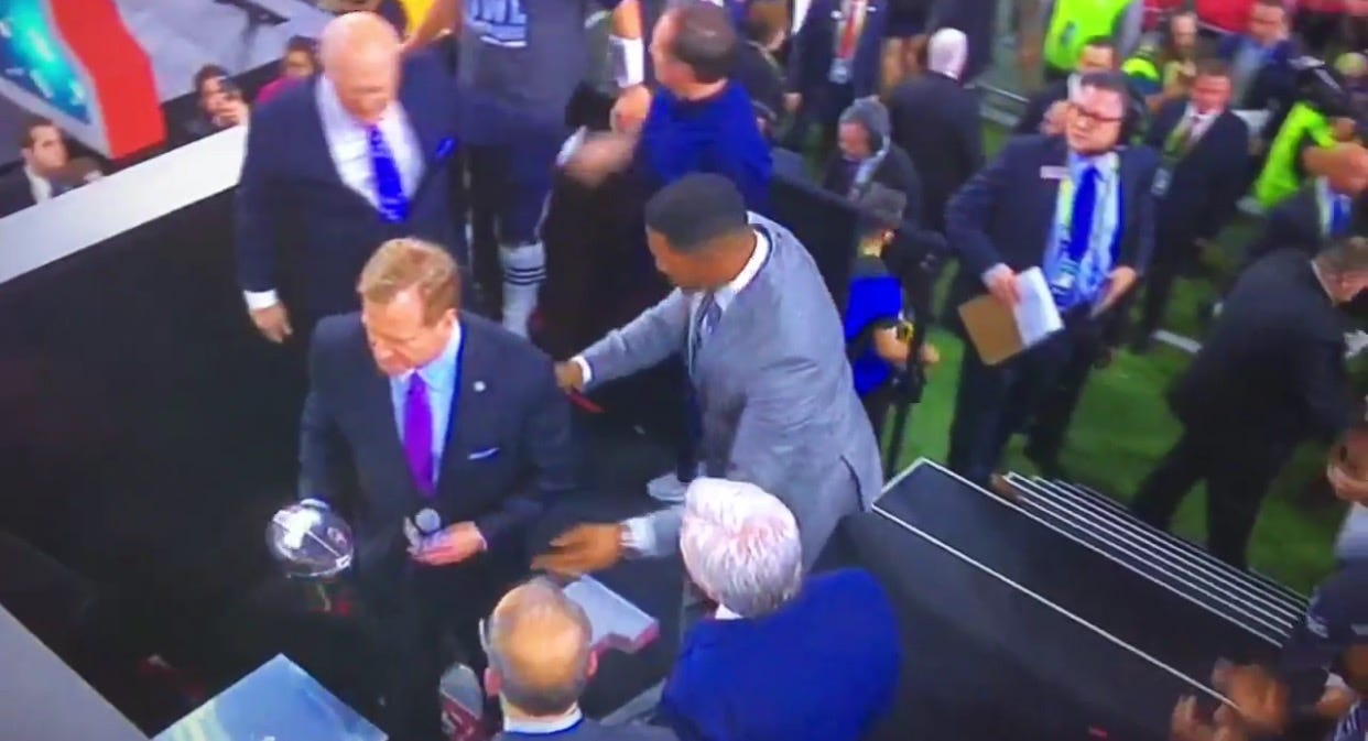 Roger Goodell Got Booed Louder Than Anyone Has Ever Been Booed Before