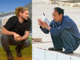 The Western Vs Asian Squat: As Demonstrated by Caleb and Rone's B-Boy Stances