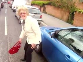 Is This Old Lady That Got Hit By 2 Cabs And Survived Immortal?