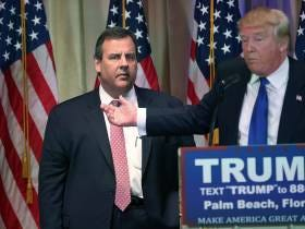 Donald Trump Forced Chris Christie To Get The Meatloaf At A Dinner Event