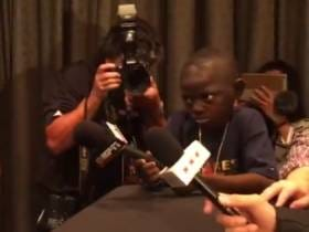 This Kid Reporter Had NO TIME For John Wall's Answer About His Favorite Food