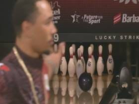 Mookie Betts Just Pimped The Shit Out Of His Sixth Strike In A Row To Win The Celebrity Bowling Tournament