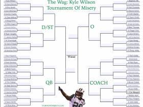 What New York Jet Caused You The Most Pain? The Wag: Kyle Wilson Tournament Of Misery
