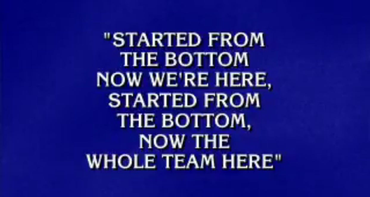 Alex Trebek Has Bars For DAYS