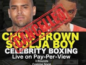 In Shocking News, Soulja Boy Says His Boxing Match Vs. Chris Brown Has Been Cancelled