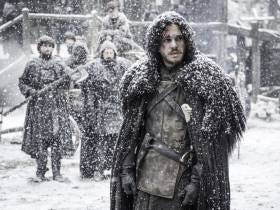 Apparently The 'Game of Thrones' Cast Has Been Filming In Brutally Cold And Windy Weather So Props To Them