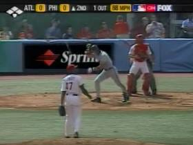 Wake Up With Javy Lopez Hitting His Record 43rd Home Run Of The Season (2003)