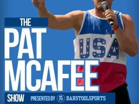 The Pat McAfee Show Launches Tomorrow.