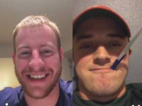 We Should Be Worried Carson Wentz's Offseason Is Getting A Little Too TURNT (Via Skype Bible Sessions)