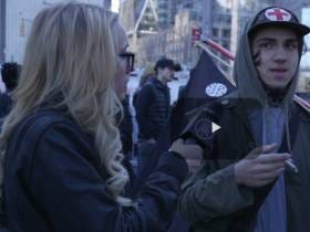 Kat Timpf Does The Presidents Day March In NYC