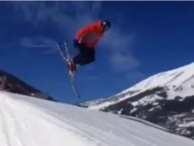 Tom Brady Posts a Video of Himself Wiping Out Skiing. Everybody Panic.