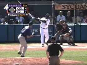 Wake Up With Tony Gwynn's Final Major League Hit (2001)