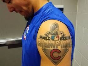 How Do We Feel About Players Getting Team Logo World Series Tattoos?
