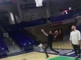 The Red Sox Were Busy Banging Half Court And Full Court Shots At FGCU Last Night