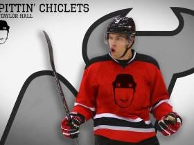 New Jersey Devils Star Taylor Hall Joins Spittin' Chiclets For First Ever Facebook Live Podcast